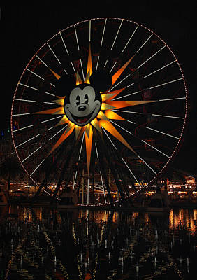 Photograph - Mickeys Fun Wheel by David Nicholls