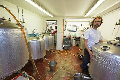 Local Food Photograph - Micro Brewery by Ashley Cooper