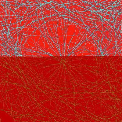 Microtubules Art Print by Ammrf, University Of Sydney