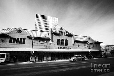 midtown plaza shopping mall downtown Saskatoon Saskatchewan Canada Art Print