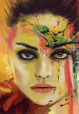 Painting - Mila Kunis  by Corporate Art Task Force