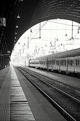 Milan Central Station Art Print by Valentino Visentini