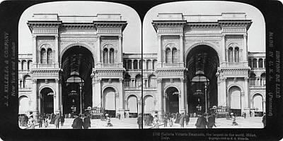 Milan Galleria, 1908 Art Print by Granger