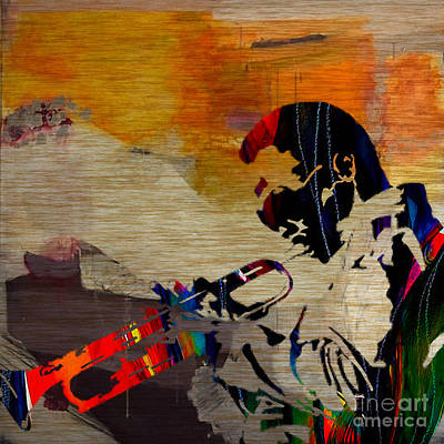 Miles Davis Mixed Media - Miles Davis by Marvin Blaine