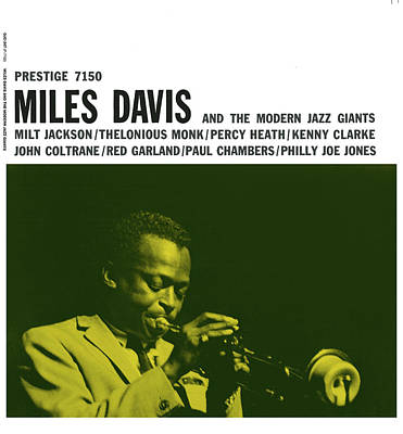 Miles Davis -  Miles Davis And The Modern Jazz Giants (prestige 7150) Art Print by Concord Music Group