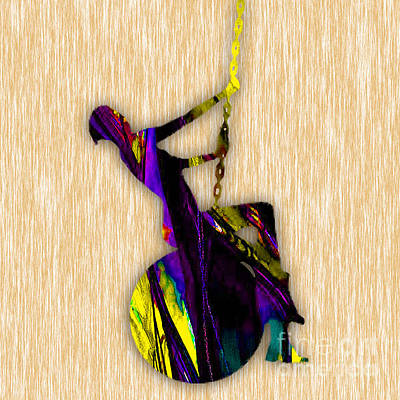Singer Mixed Media - Miley Cyrus Wrecking Ball by Marvin Blaine