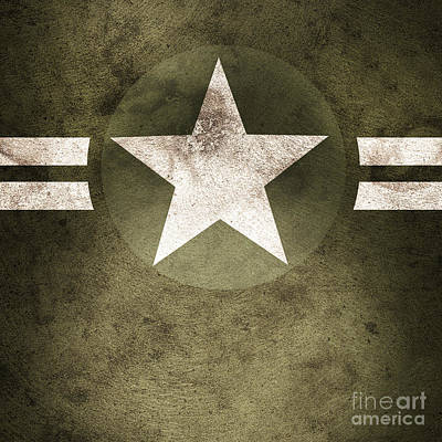 Protection Photograph - Military Army Star Background by Jorgo Photography - Wall Art Gallery