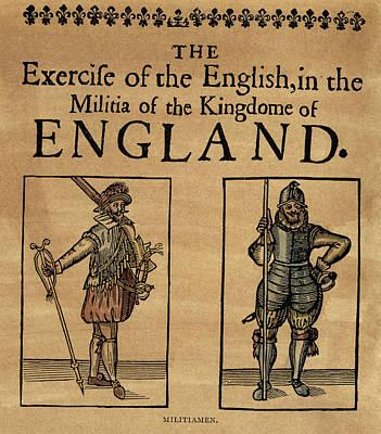 Cromwell Painting - Militiamen, C1642 by Granger