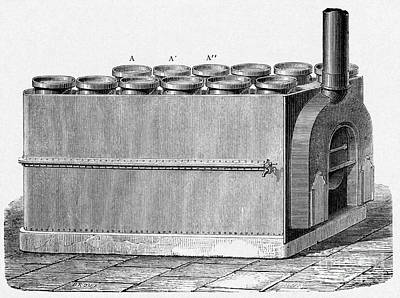 Milk Pasteurization, 19th Century Art Print by CCI Archives