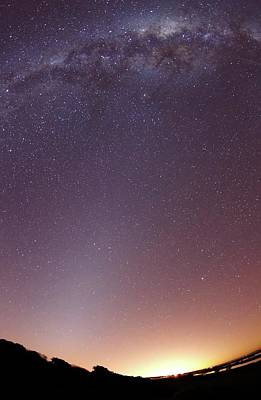 August 2012 Photograph - Milky Way And Zodiacal Light by Luis Argerich