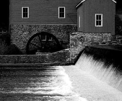 Photograph - Mill Water Wheel  by Val Arie