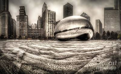 Millennium Wall Art - Photograph - Millennium Park In Chicago by Twenty Two North Photography