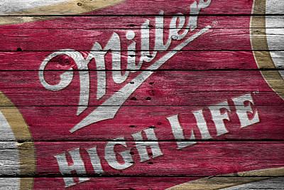 Saloon Photograph - Miller High Life by Joe Hamilton