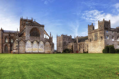Milton Abbey Art Print by Joana Kruse