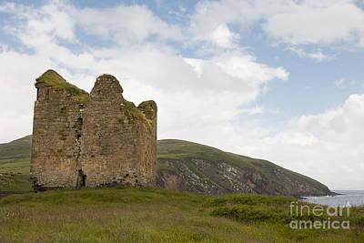 Minards Castle, Dingle Peninsula Art Print by John Shaw