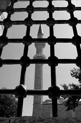 Minaret Print by Ernesto Cinquepalmi