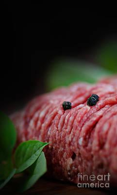 Npetolas Photograph - Minced Meat by Mythja  Photography