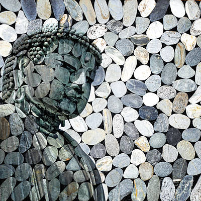 Tourism Digital Art - Mineral Daibutsu by Delphimages Photo Creations