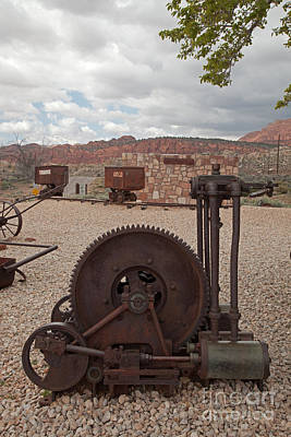 Photograph - Mining Tram by Fred Stearns
