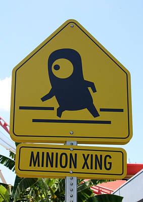 Photograph - Minion Crossing by David Nicholls