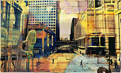 Photograph - Minneapolis Collage by Susan Stone