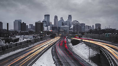 Photograph - Minneapolis by Ryan Heffron