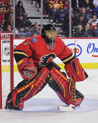 Photograph - Minnesota Wild V Calgary Flames by Derek Leung