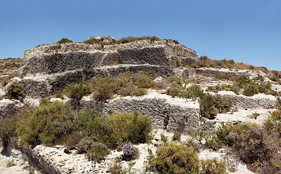 Minoan Photograph - Minoan Sandstone Quarry by David Parker