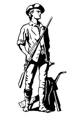 Minuteman Art Print by Granger