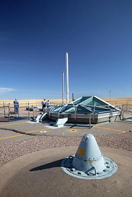Historic Site Photograph - Minuteman Missile Silo by Jim West