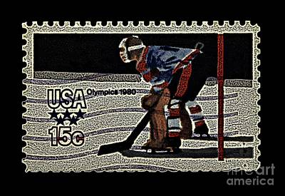 Olympic Hockey Photograph - Miracle On Ice 1980 Olympic Mens Hockey by Kerry Gergen