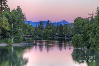 Deschutes River Photograph - Mirror Pond by Twenty Two North Photography