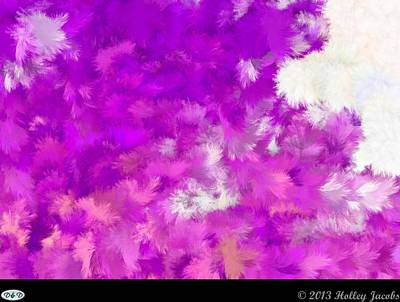 Digital Art - Mirrors Pink by Holley Jacobs