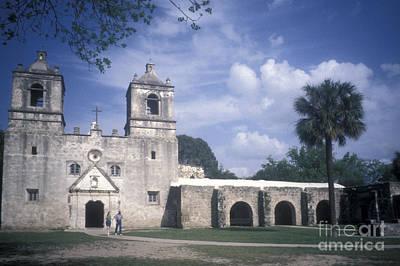 Photograph - Mision Concepcion San Antonio Texas by John  Mitchell