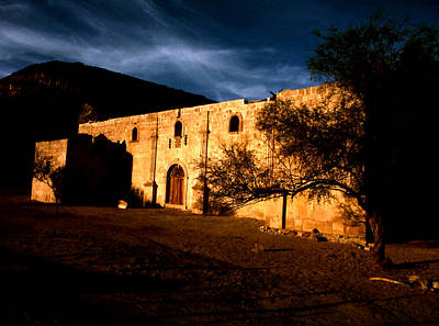 Photograph - Mission San Borja In Twilight by Robert  Rodvik