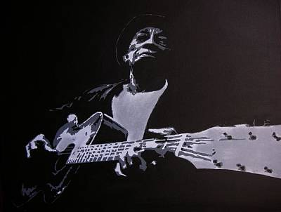 Painting - Mississippi John Hurt by Rock Rivard