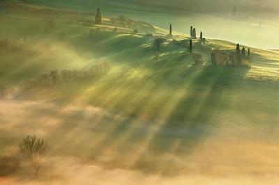 Beginnings Photograph - Mist... by Krzysztof Browko
