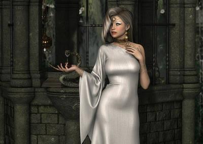 Digital Art - Mistress Of Poisons by Rachel Dudley