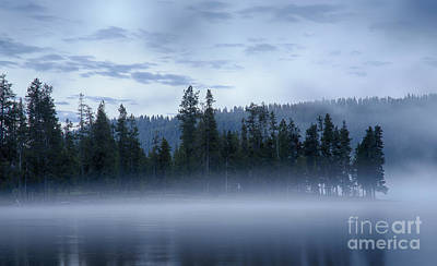 Photograph - Misty Blue Persuasion by Idaho Scenic Images Linda Lantzy