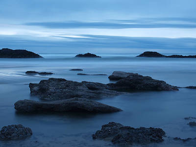 Photograph - Misty Ocean by HW Kateley