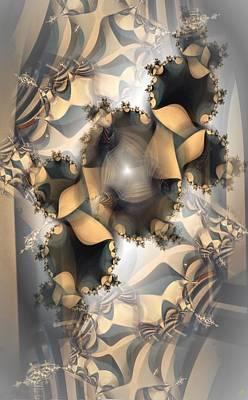 Digital Art - Misty by Ron Bissett