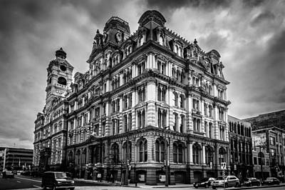 Nighttime Street Photography - Mitchell Building by Randy Scherkenbach