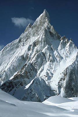 Photograph - Mitre Peak At 6252 Meters Elevation by Colin Monteath