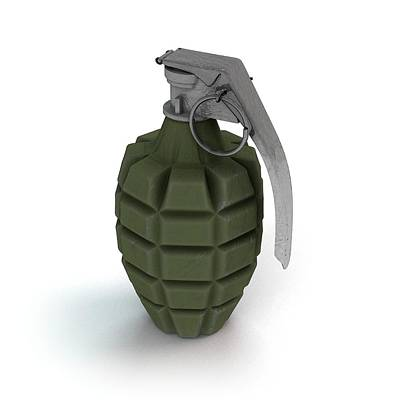 Mechanism Photograph - Mk 2 Grenade by Mikkel Juul Jensen