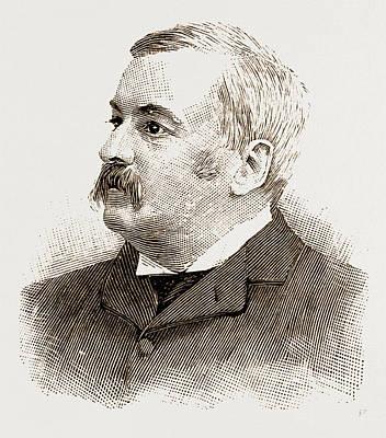 Mk. D. M. Dickenson Mr. Justice Putnam Mr. Chandlerp Art Print
