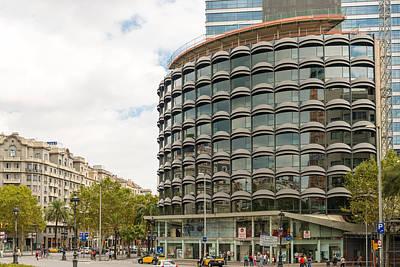 Modern Architecture In Barcelona Spain Art Print
