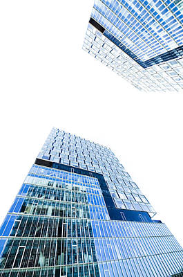 Modern Buildings Art Print by Ioan Panaite