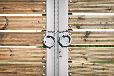 Modern Gate Art Print by Tom Gowanlock