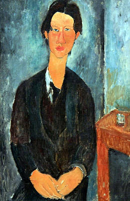 Amadeo Modigliani Photograph - Modigliani's Chaim Soutine by Cora Wandel