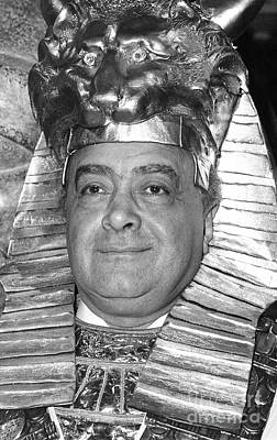 Photograph - Mohamed Al Fayed by David Fowler